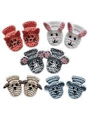 Animal Baby Mittens