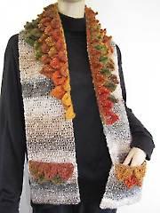 Autumn Leaves Pocket Scarf