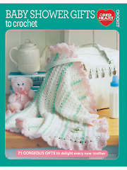 Baby Shower Gifts to Crochet