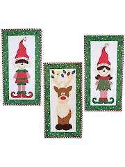 Santa's Helpers Wall Hanging Pattern