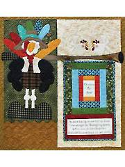 Chickens for Sale Wall Hanging Pattern & Mini Panel