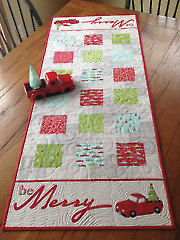 Be Merry Table Runner Pattern