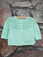 Little Sis Cardigan Knit Pattern