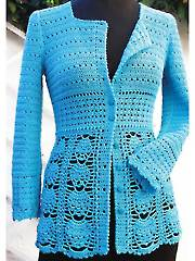 Blue Lace Jacket - Electronic Download RAC1517