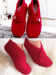 Red Rib Basic Slippers - Electronic Download RAC1521