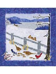 Snow Birds Wall Hanging Pattern