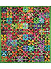 Popped Color Quilt Pattern