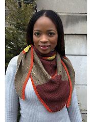 Diamond Shawl Knit Pattern