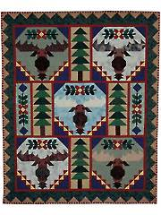 Trophy Bull Moose Quilt Pattern Booklet