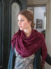 Ceonothus Shawl Knit Pattern