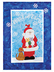 Peace on Earth Wall Hanging Pattern