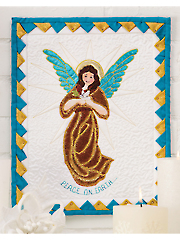 Angels Among Us Wall Hanging Pattern
