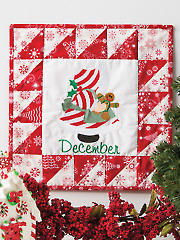 Sunbonnet Christmas Wall Hanging Pattern
