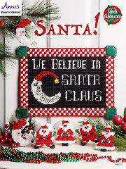 Santa! Plastic Canvas Pattern