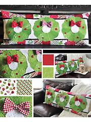 Deck the Halls Bench Pillow Pattern