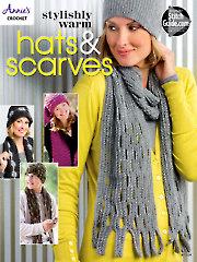 Stylishly Warm Hats & Scarves Crochet Patterns