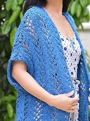 Azure Thing Cardigan Knit Pattern