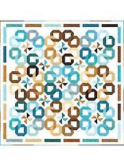 Pinwheel Wreaths Quilt Pattern