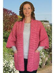 Moss Stitch Jacket Knit Pattern