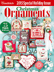 Just CrossStitch Christmas Ornaments 2015