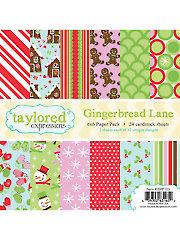 Gingerbread Lane 6x6 Paper Pack
