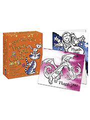Color Your Own Thank You Card