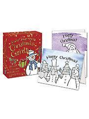 Color Your Own Christmas Card