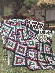 Kaleidoscope Afghan Crochet Pattern