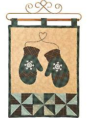 Vintage Blessings January Wall Hanging Pattern