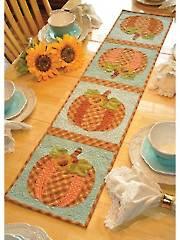 Vintage Blessings October Table Runner Pattern