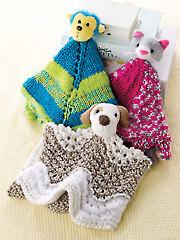 Buddy Blankies Knit Patterns Annie's Signature Designs