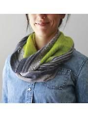 3 Color Cashmere Cowl Knit Pattern