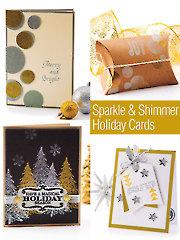 Sparkle & Shimmer Holiday Cards