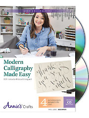 Modern Calligraphy Made Easy DVD