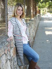Ashbury Knit Vest Knit Pattern