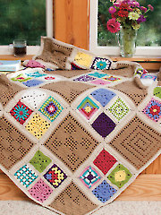 Afghan of Many Colors