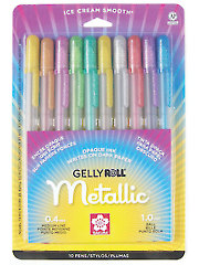 Gelly Roll� Metallic� - 10/pkg.