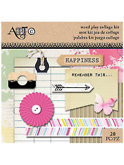Wordplay Mini Collage Pack - 20/Pc.