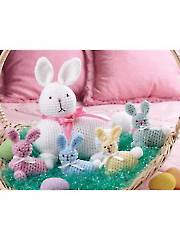 Easter Bunny & Babies - Electronic Download