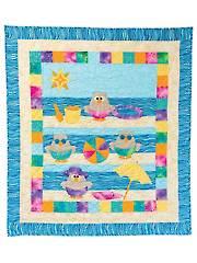Beach Hoots Quilt Pattern