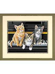 Musical Trio Paint-by-Number Kit