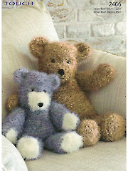 Sirdar Touch 2466: Bear Buddies Knit Pattern