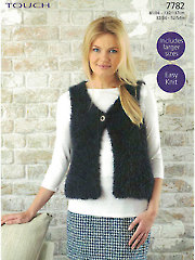 Sirdar Touch 7782: Vest Knit Pattern