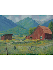 The Red Barn Cross Stitch Pattern