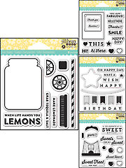 Fabulous Clear Stamp Set - 14/Pc.