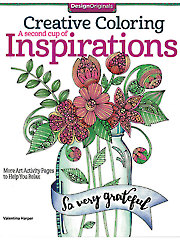 Creative Coloring: A Second Cup of Inspirations Coloring Book 708365