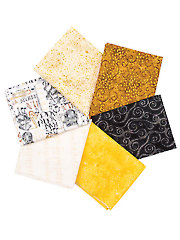 Play Your Song Fat Quarters - 6/pkg.