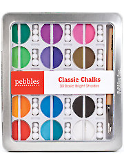Pebbles Basic Brights Chalk Set