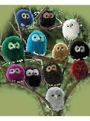 9022: Owl Knit Pattern