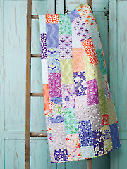 Exclusively Annie's Tequila Sunrise Quilt Pattern